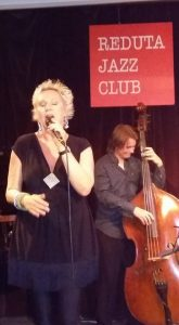 Live at the Reduta, Prague, July 2016. With the fabulous Milos Klapste.