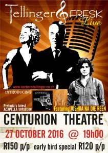 Centurion T & F with JNDR poster